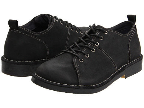 Pantofi Bass - Grayford - Black Leather