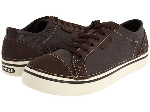 Adidasi Crocs - Hover Lace Up Leather - Espresso/Stucco