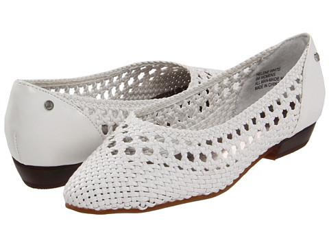 Pantofi Bass - Helene - White Semi