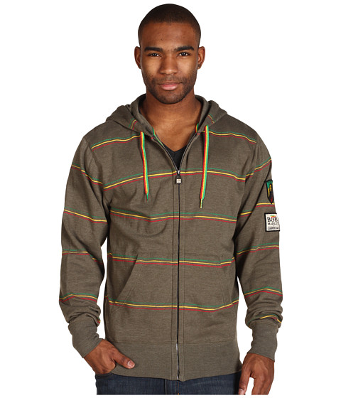 Bluze Billabong - BM Redemption Zip Hoodie - Army Heather