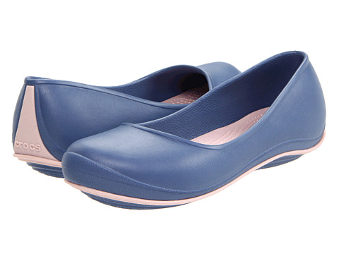 Balerini Crocs - Crocs Tone⢠Julia Flat - Bijou Blue/Cotton Candy