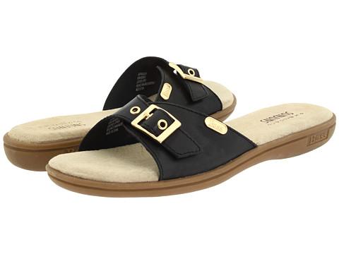 Sandale Bass - Safina - Black Aztec Leather