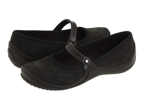 Balerini Crocs - Wrapped Mary Jane - Black/Black