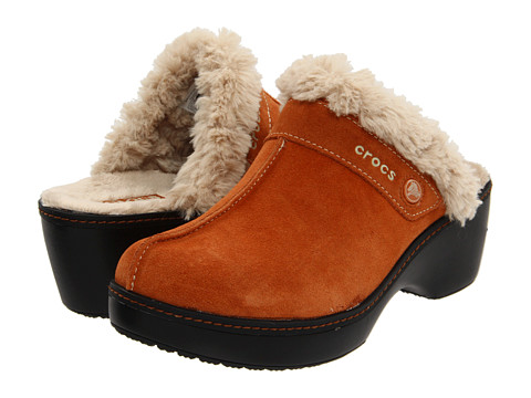 Sandale Crocs - Cobbler Leather Clog - Chesnut/Black