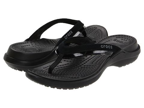 Sandale Crocs - Vezzy - Black/Black