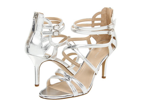 Sandale Nine West - GoingSteady - Silver Synthetic