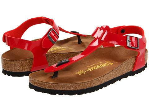 Sandale Birkenstock - Kairo - Tango Red Patent Birko-Florâ¢