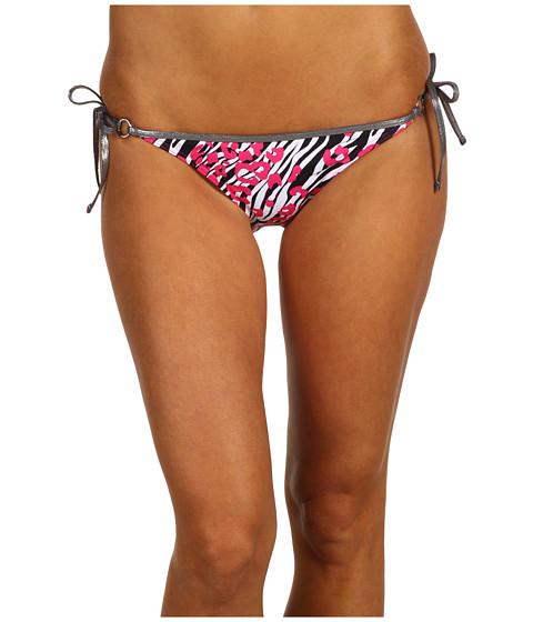 Costume de baie Calvin Klein - Neo Skin String Classic Bikini Bottom - Pink Glow