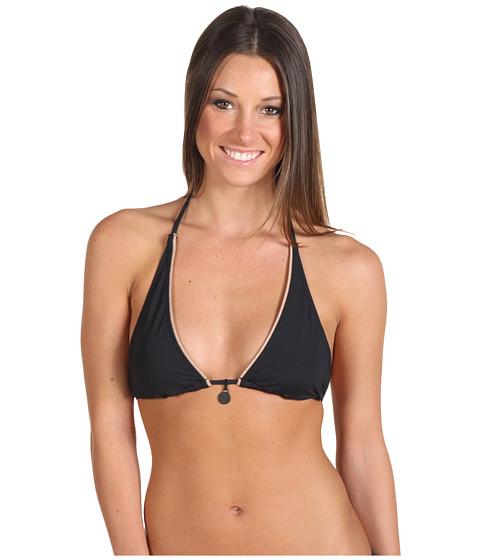 Costume de baie Calvin Klein - Solids Halter Top - Black