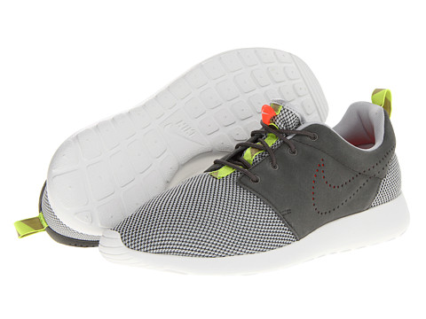 Poza Adidasi Nike - Roshe Run - Dusty Grey/Dusty Grey/Total Crimson/Dark Pewter