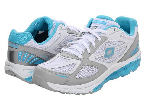 Adidasi SKECHERS - Fuse - White/Blue