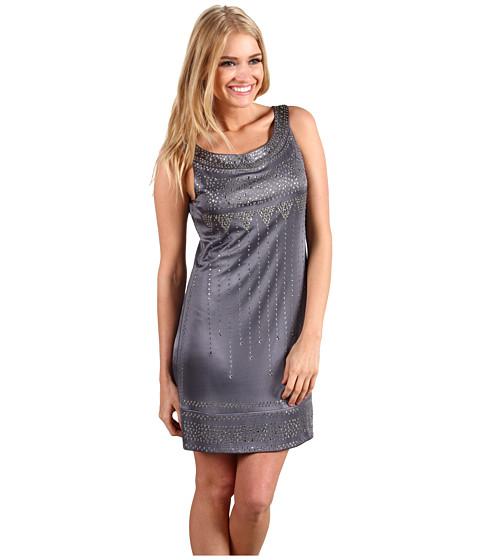 Rochii BCBGMAXAZRIA - Lyris Sleeveless Shift Dress - Agate