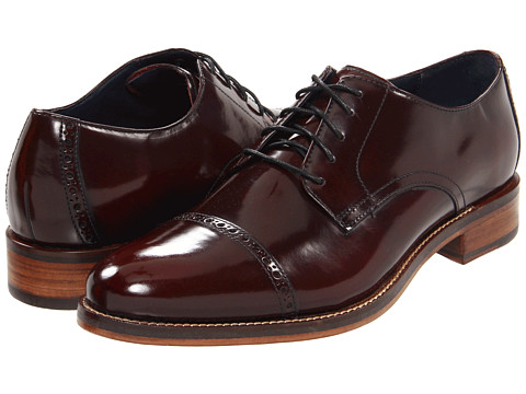 Pantofi Cole Haan - Air Madison Cap Oxford - Burgundy