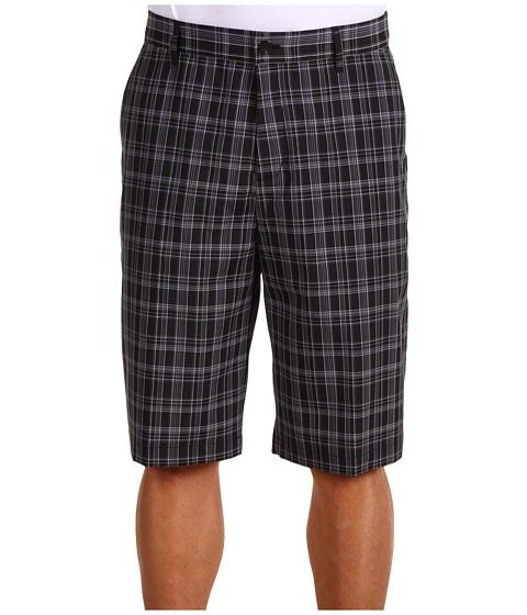 Pantaloni adidas Golf - ClimaLiteÃ'® Classic Plaid Short - Black/Precinct/Coyote/White