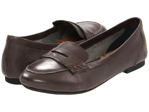 Sandale Born - Dorota - Dark Grey Burnished Leather