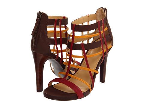 Sandale Nine West - LiveLoud - Dark Brown Multi Leather
