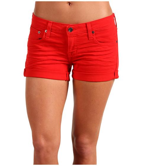 Pantaloni Big Star - Remy Low-Rise Short in Scarlett - Scarlett