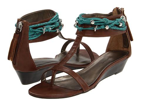 Sandale Bandolino - Plumskie - Brown/Turquoise