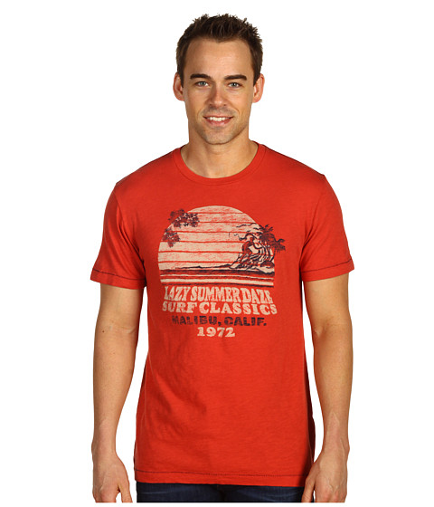 Tricouri Lucky Brand - Lazy Summer S/S Tee - Summer Red