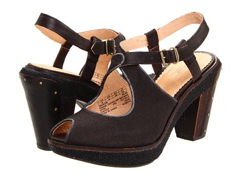 Sandale Timberland BC - Marge Wood Heel Sandal - Black