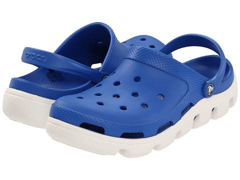 Sandale Crocs - Duet Sport Clog - Sea Blue/Oyster