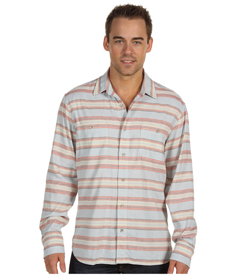 Bluze Lucky Brand - Ensenada Stripe Shirt - Blue Stripe