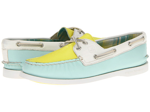 Pantofi Sperry Top-Sider - A/O 2 Eye - Aqua/Pucker/White