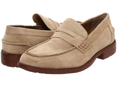 Pantofi Hush Puppies - Holden - Khaki Suede