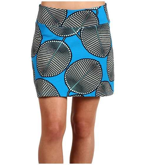 Fuste Patagonia - Tidal Skirt - Palm Fronds/Grecian Blue