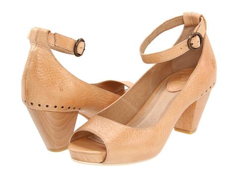 Pantofi Frye - Coral Ankle Strap - Natural