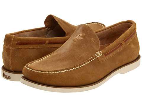 Pantofi Ralph Lauren Collection - Blackley - Snuff Leather