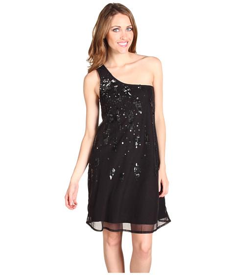 Rochii Diesel - Cotton Mesh Sequin Dress - Black
