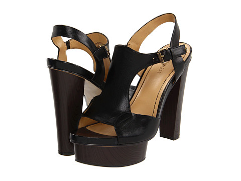 Sandale Nine West - FreeWill - Black Leather