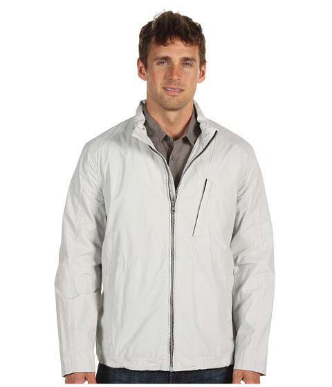 Jachete Cole Haan - Nautical Sport Cotton Zip Front Jacket - Clay