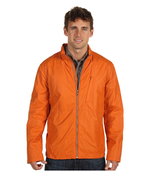Jachete Cole Haan - Nautical Sport Cotton Zip Front Jacket - Orange