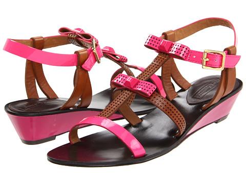 Sandale Juicy Couture - Sura - Dragon Fruit Patent/Caramel Vacchetta