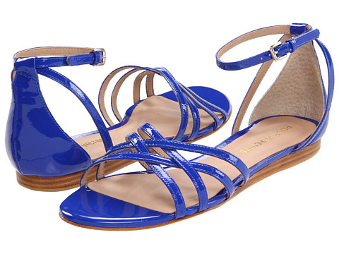 Sandale Pour La Victoire - Faine - Cobalt Patent