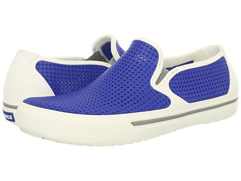 Adidasi Crocs - CrosMesh Summer Shoe - White/Sea Blue