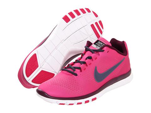 Adidasi Nike - Free Advantage - Fireberry/Bordeaux/White/Thunder Blue