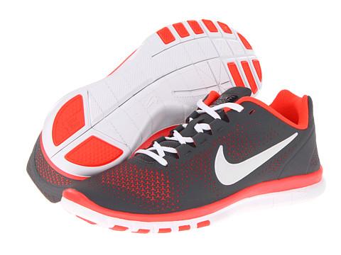 Adidasi Nike - Free Advantage - Dark Grey/Bright Crimson/White
