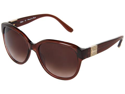 Ochelari Chloe - CL2233 - Brown Stripes/Bi Gradient Brown