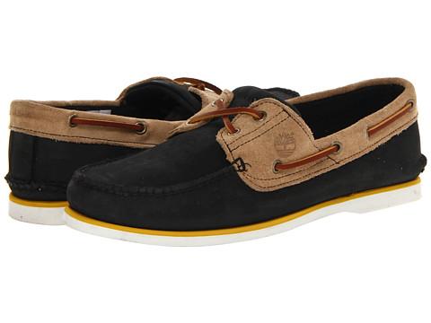 Pantofi Timberland - Classic 2 Eye Boat - Black/Tan