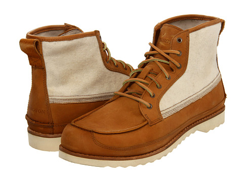 Ghete Timberland - The Abington 7-Eyelet Moc Boot by Timberland - Light Brown Nubuck