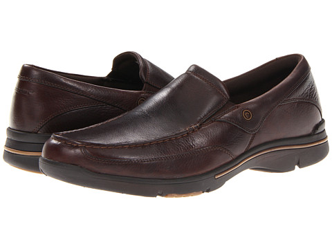 Pantofi Rockport - Eberdon - Dark Brown Leather