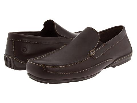Pantofi Rockport - Callahan II - Dark Brown Leather