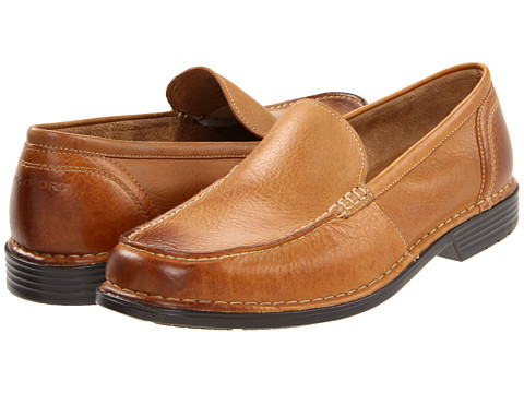 Pantofi Rockport - Washington Square Venetian - Tan