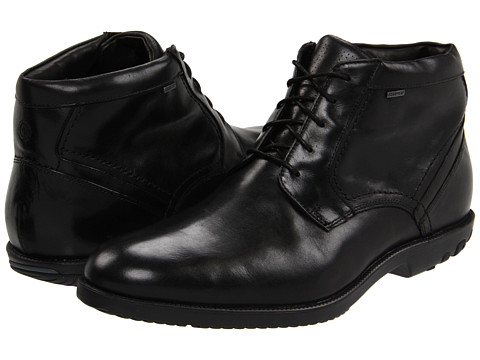Ghete Rockport - Dressport Truwalk Chukka Boot GTX - Black