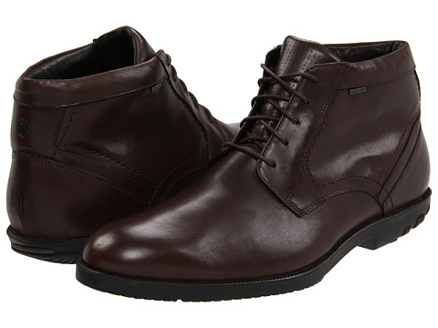 Ghete Rockport - Dressport Truwalk Chukka Boot GTX - Dark Brown