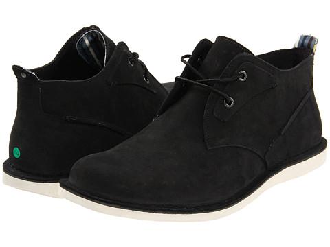 Ghete Rockport - Eastern Standard Casual Mid PT - Black/White