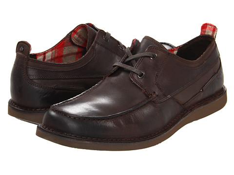 Pantofi Rockport - Eastern Standard Moc Ox - Pinecone/Brown
